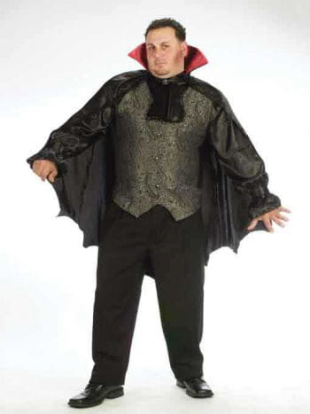 Count Noble Vampire Costume Size XL