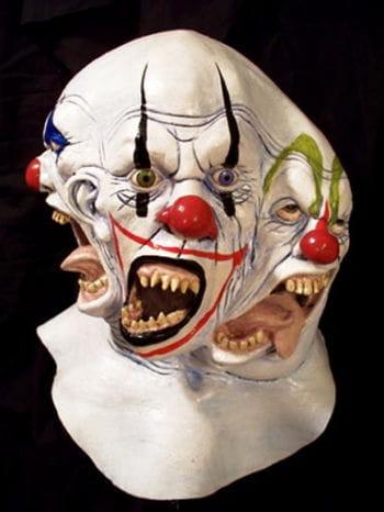 Schizomanic Clown Maske