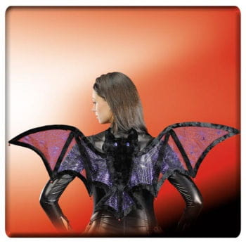 Fledermausflügel violett / metallic