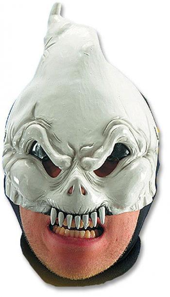 White Ghost Half Mask