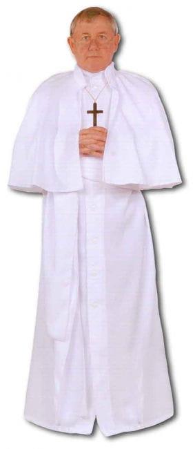 weißes Papst Premium Kostüm