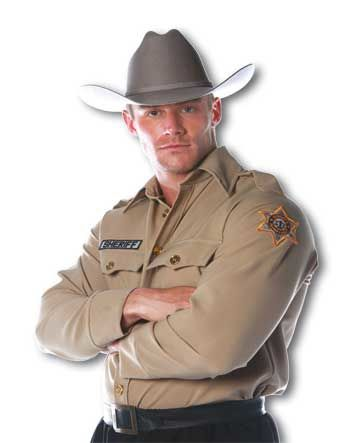 Sheriff Shirt Kostüm Gr.L