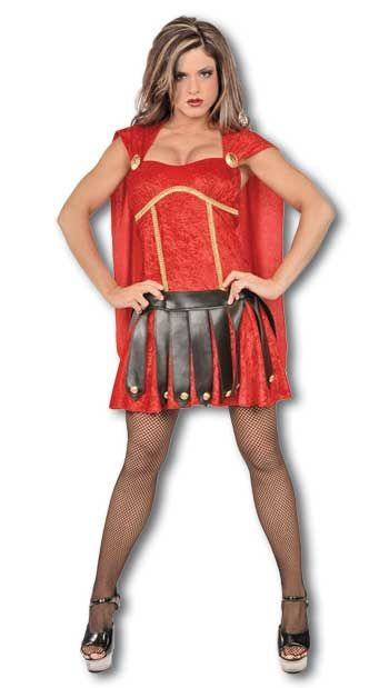 Sexy Gladiator Costume Red Size L / 40