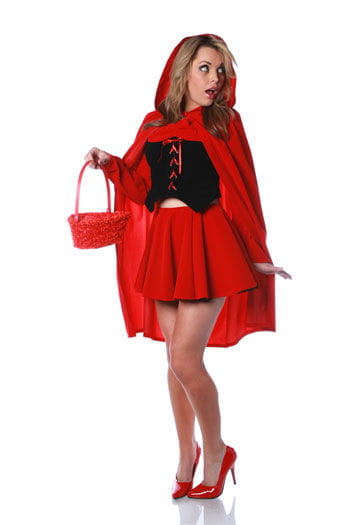 Sexy Red Riding Hood Costume. S