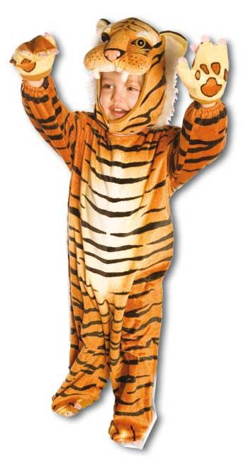 Kuschel Tiger Kostüm Gr. XL