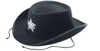 Children Cowboy Hat black