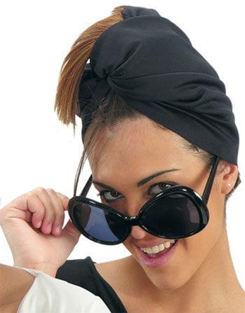 Mega Star Brille schwarz