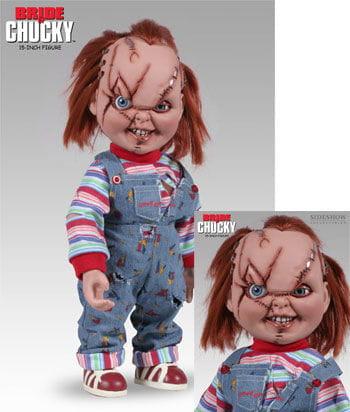 Chucky- vernarbt Action Figur 36cm