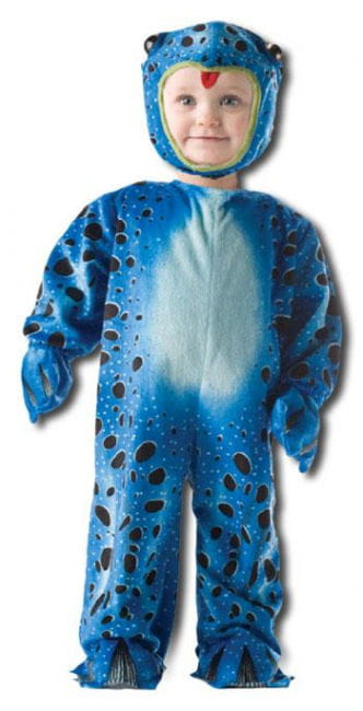 Blue Frog Kids Costume. S (6 to 12 mo)