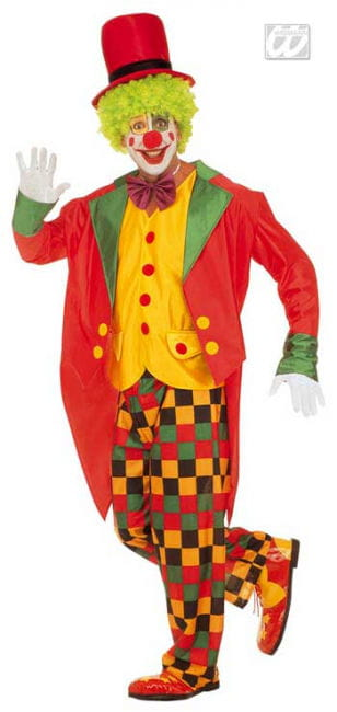 Clown costume with Frack M