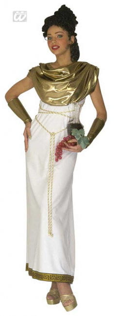 Greek goddess Persephone Costume S