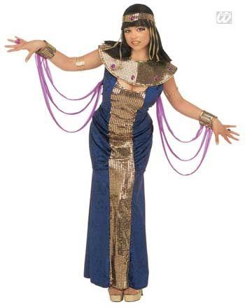 Pharaonin Nofretete Kostüm Gr. S 36/38