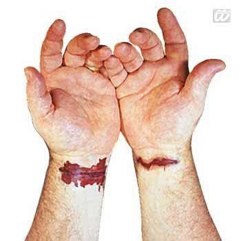 Tattoo artery wound 8