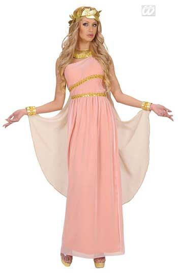Aphrodite Greek Goddess Costume Size S