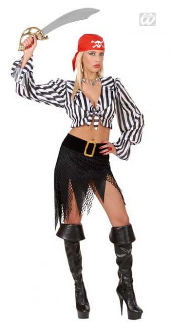 Kesse Piratenbraut Kostüm M