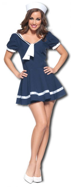 Flirty Sailor Premium Costume Large