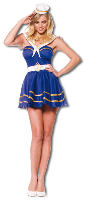 Playful Sailor Girl Premium Costume. M