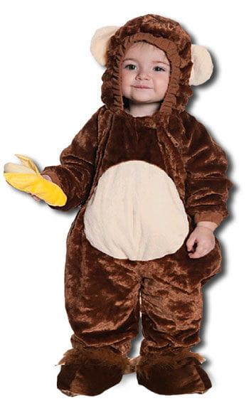 Schelmisches Affen Kinderkostüm Gr. M