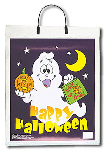 Trick or Treat bag with ghost motive