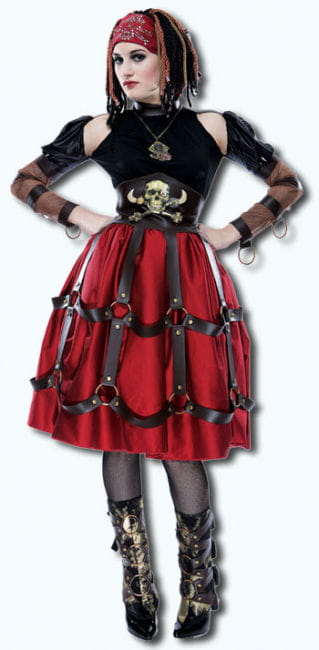 Apocalyptic Pirate Maiden Costume S