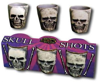 Skull Schnapsglas Set 3 St