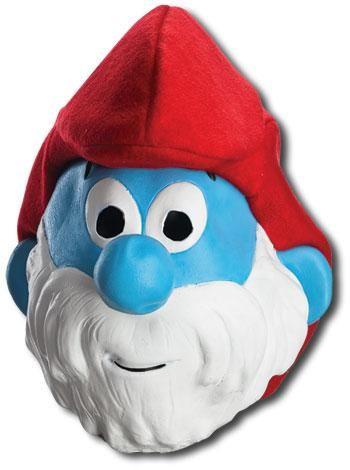 Papa Smurf mask