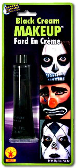 Creme Make Up Schwarz in der Tube