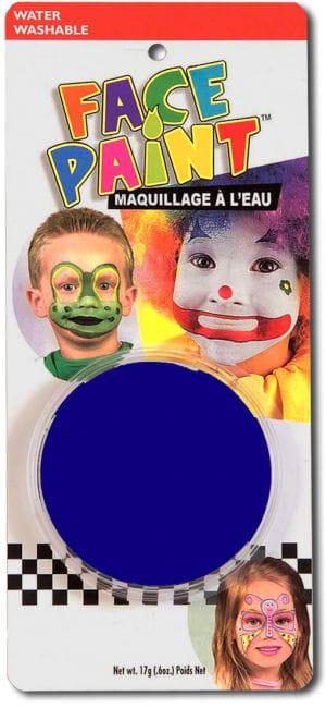 Blaues Aqua-Make-Up