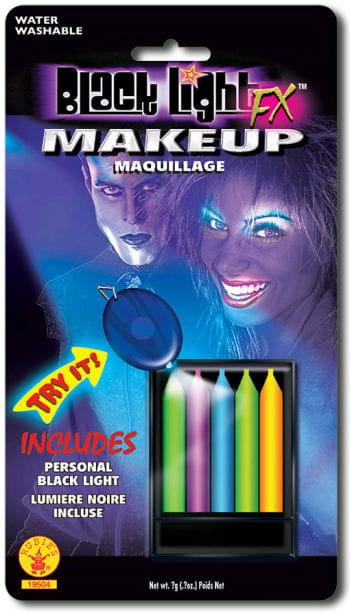 Neon Make Up Farbstifte 5er Set