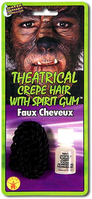 Theater hair black