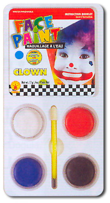 Clown Aqua Makeup make-up