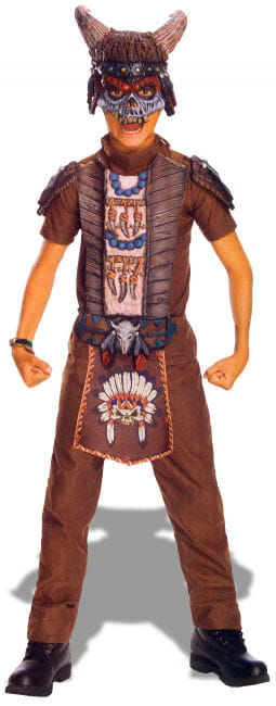 Apache Warrior Costume Size M