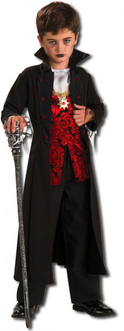 Graf Dracula Kinderkostüm L