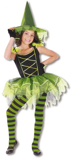 Ballerina Witch Child Costume M