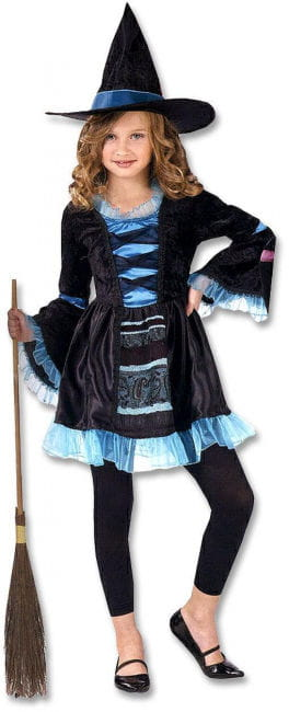 Victorian Witch Child Costume Size L
