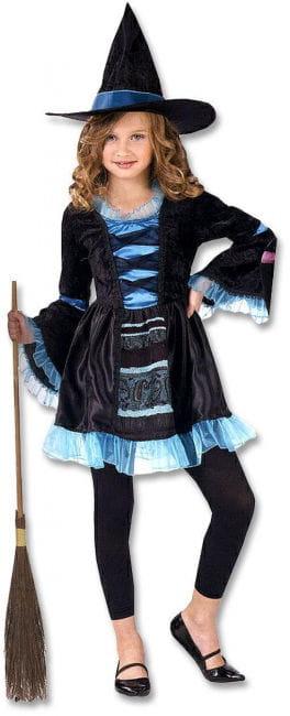 Viktorianische kleine Hexe Kinderkostüm L