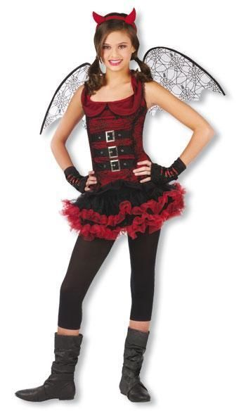 Bat Devil Teen Costume