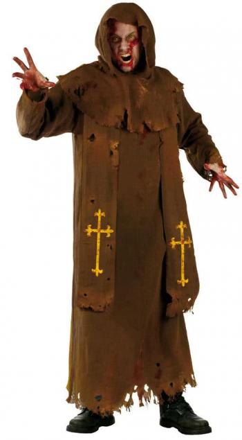 Zombie Abt Kostüm