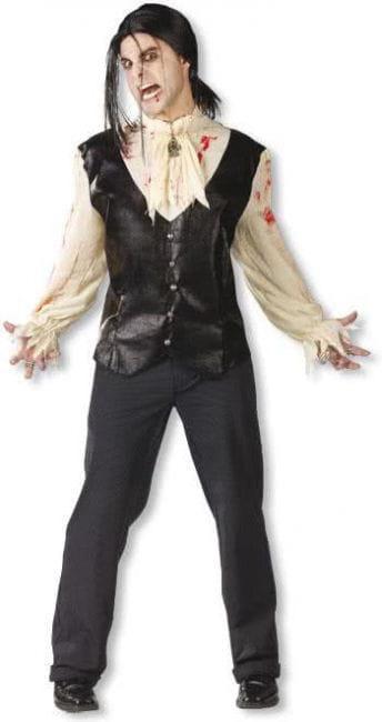 Bloody Vampire Shirt with Waistcoat