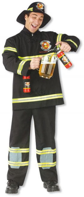 Firefighter Costume thirst quencher