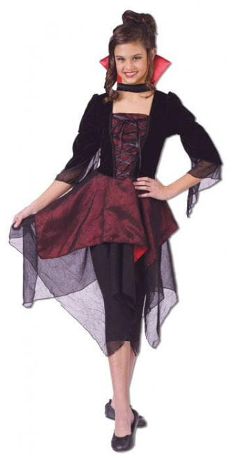 Lady Dracula Kinderkostüm S