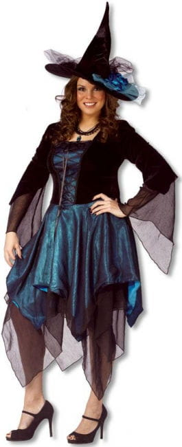 Full Moon Witch Costume XL