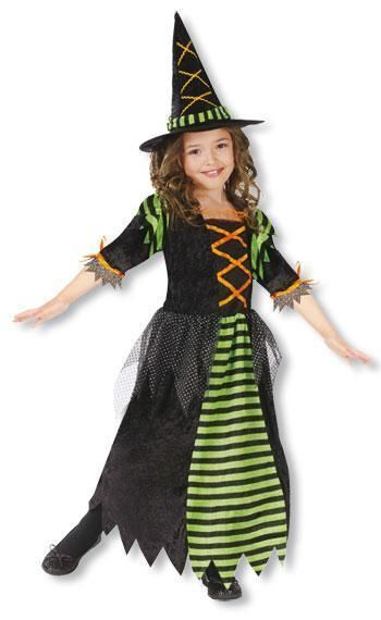 Little Halloween Witch Child Costume S