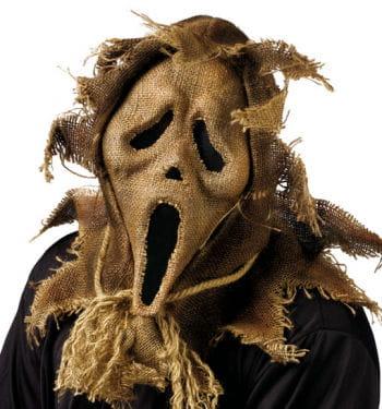 Scarecrow Scream Maske