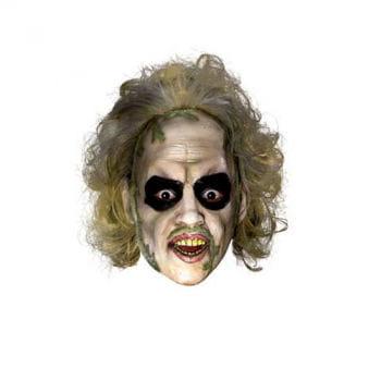 Beetlejuice Maske mit Haaren