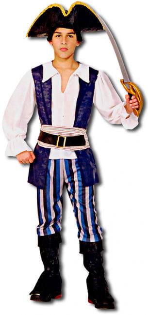 High Seas Pirate Child Costume Size S