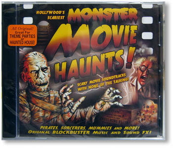 Monster Movie Haunts CD