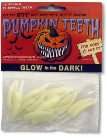 Pumpkin Teeth Medium Glow