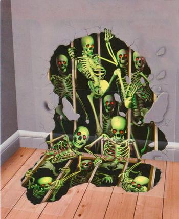Skelett Invasions Folie