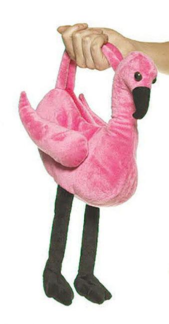 Pink Flamingo Handtasche